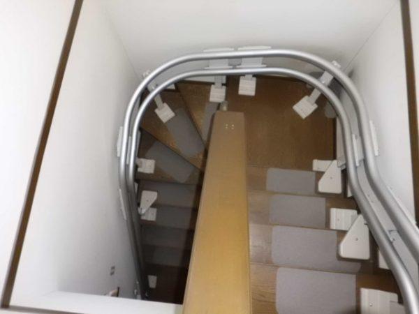 兵庫県西宮市N様 階段昇降機・手すり設置工事後02