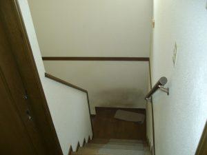 兵庫県西宮市N様 階段昇降機・手すり設置工事前01