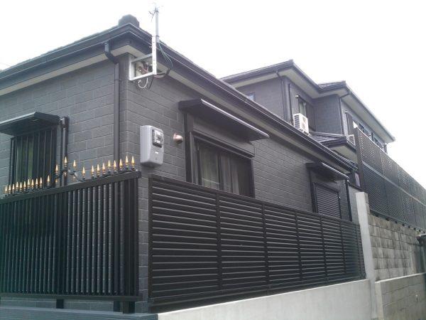 大阪府箕面市T様手すり・外構・ひさし設置工事後03