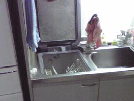 大阪府箕面市N様 食器洗い乾燥機取替工事-施工前