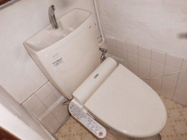 大阪府箕面市S様 トイレ(便器・タンク・ウォシュレット)取替工事-施工後