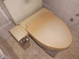 大阪府箕面市S様 トイレ(便器・タンク・ウォシュレット)取替工事-施工前