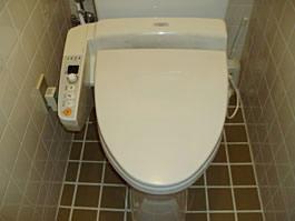 大阪府箕面市H様 トイレ(ウォシュレット)取替工事 施工前