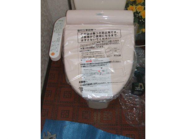 大阪府箕面市K様からトイレ(ウォシュレット)取替工事 施工後