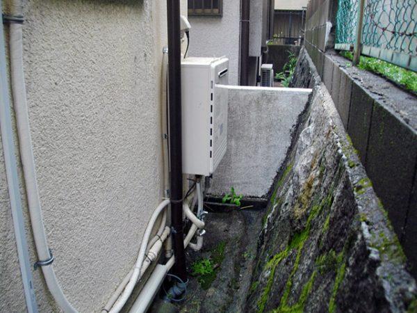 大阪府枚方市A様 給湯器移設工事-移設後