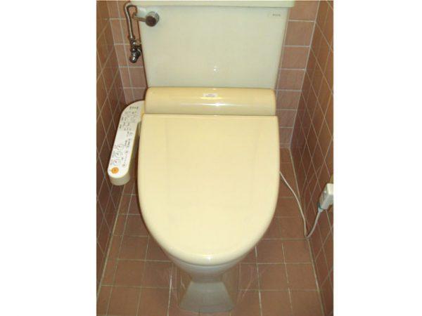 大阪府箕面市S様 トイレ(ウォシュレット)取替、手すり設置工事-施工後