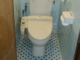 大阪府箕面市S様 トイレ(ウォシュレット)取替、手すり設置工事-施工前