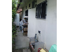 大阪府豊能郡豊能町S様 エコジョーズガスふろ給湯器取替工事-施工前