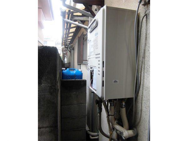 大阪府池田市N様 エコジョーズ給湯暖房機(プリオール・エコジョーズ)取替工事 施工後
