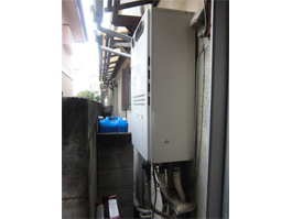 大阪府池田市N様 エコジョーズ給湯暖房機(プリオール・エコジョーズ)取替工事 施工前