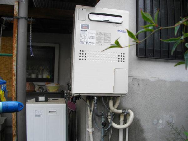 大阪府箕面市K様 エコジョーズ給湯暖房機(プリオール・エコジョーズ)取替工事