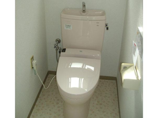 大阪府池田市M様 トイレ(便器・ウォシュレット)取替工事-02