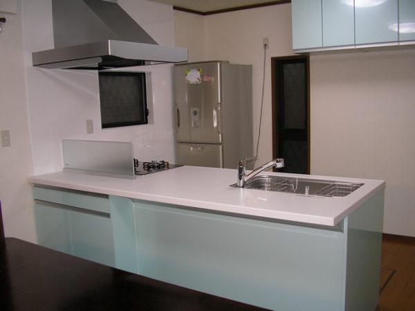大阪府豊中市Y様 キッチン・浴室リフォーム、床暖房設置工事-02