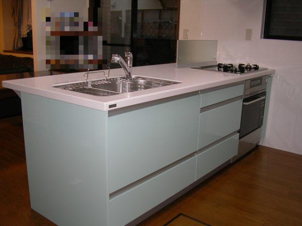 大阪府豊中市Y様 キッチン・浴室リフォーム、床暖房設置工事-04