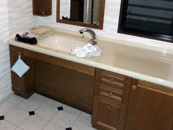 大阪府豊中市S様 浴室・トイレリフォーム・洗面所床・クロス貼替工事-06