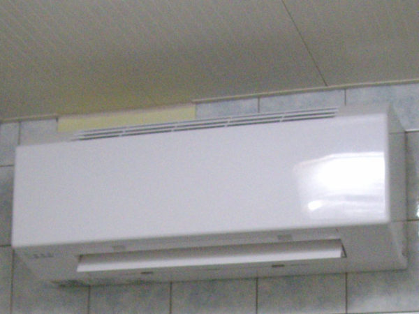 大阪府箕面市N様 浴室暖房乾燥機取替工事-02