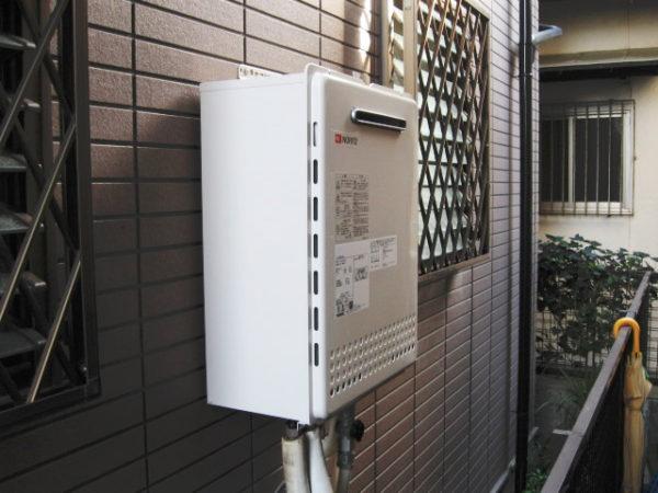 大阪府箕面市M様 ガス給湯器取替交換リフォーム-02