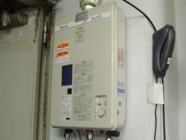大阪府箕面市H様 小型湯沸器取替交換リフォーム-01