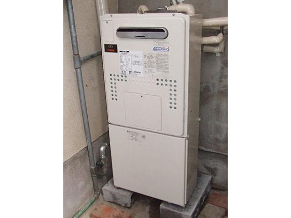 大阪府箕面市K様 エコジョーズ給湯器取替工事・浴室リフォーム-02