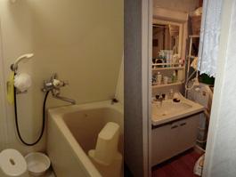 兵庫県川西市M様 洗面化粧台取替交換・浴室リフォーム-01