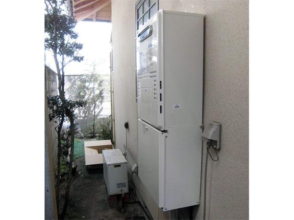 大阪府吹田市K様 エコジョーズ給湯暖房機(プリオール・エコジョーズ)・レンジフード取替交換リフォーム-02
