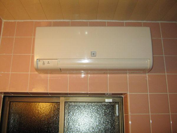 大阪府箕面市M様 エコジョーズガス給湯器取替・浴室暖房乾燥機(カワック)取付交換リフォーム-04