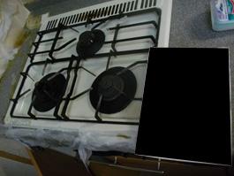 大阪府吹田市K様 ビルトインコンロ・エコジョーズ給湯暖房機(プリオール・エコジョーズ)取替交換リフォー-01ム(らく得リース)-01