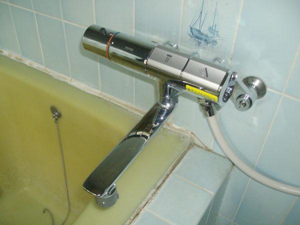 大阪府箕面市T様 浴室水栓(シャワー)・浴室暖房乾燥機(カワック)取替交換リフォーム-02