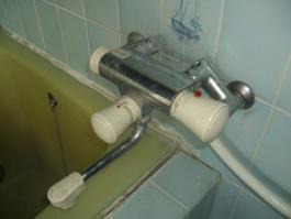 大阪府箕面市T様 浴室水栓(シャワー)・浴室暖房乾燥機(カワック)取替交換リフォーム-01