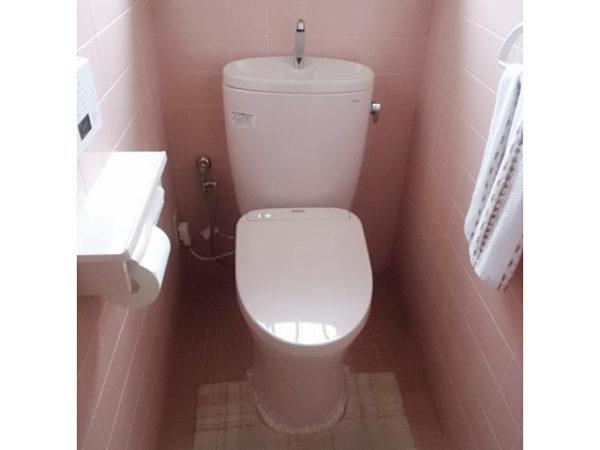 大阪府箕面市N様 トイレ(便器・ウォシュレット)取替交換リフォーム-02