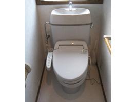 大阪府吹田市T様 トイレ(便器・ウォシュレット)取替交換リフォーム-01