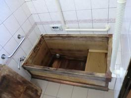 兵庫県芦屋市Y様 木製浴槽(木風呂)取替交換リフォーム-01