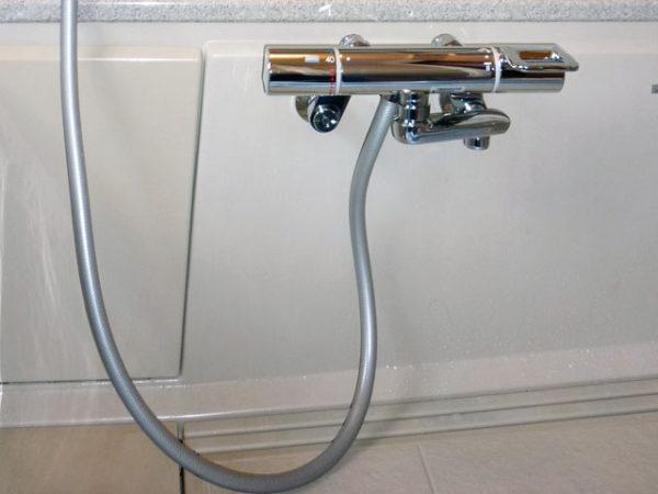 大阪府豊中市M様 浴室水栓(シャワー)取替交換リフォーム-02