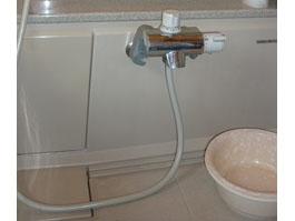 大阪府豊中市M様 浴室水栓(シャワー)取替交換リフォーム-01