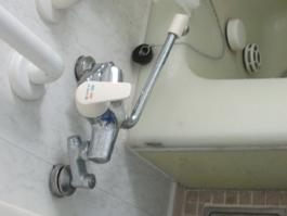 大阪府箕面市K様 浴室水栓(シャワー)取替交換リフォーム-1