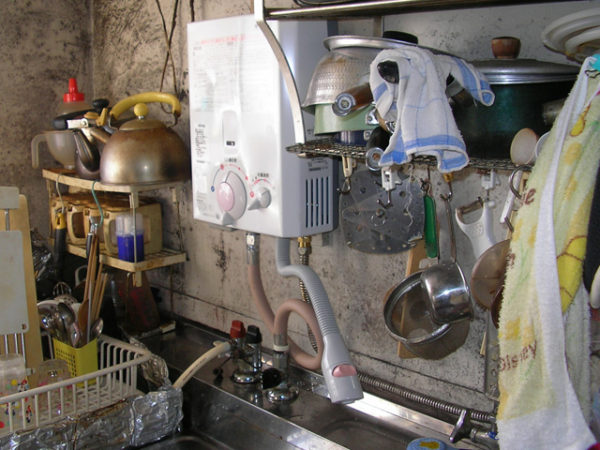 大阪府池田市M様 小型湯沸器取替交換リフォーム-2