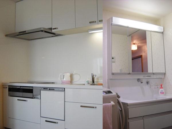 兵庫県宝塚市N様 キッチン・浴室リフォーム、洗面化粧台・給湯器取替交換リフォーム-2