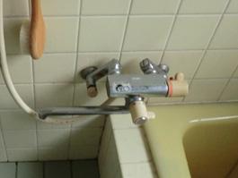 大阪府池田市K様 浴室水栓(シャワー)取替交換リフォーム-3