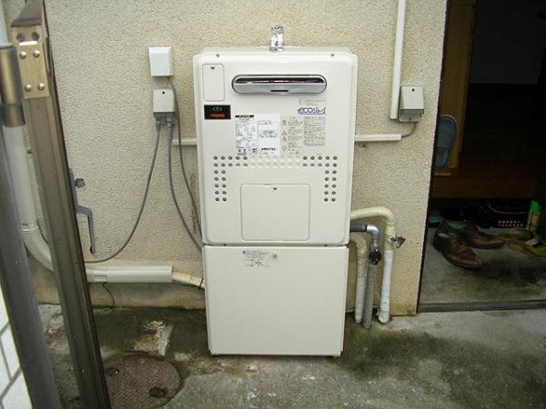 大阪府箕面市K様 エコジョーズ給湯暖房機(プリオール・エコジョーズ)取替交換リフォーム-02