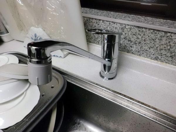 大阪府箕面市M様 台所水栓・浴室水栓取替交換リフォーム-2