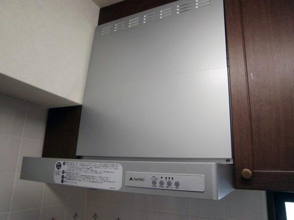 大阪府池田市S様 ビルトインコンロ・レンジフード取替交換リフォーム-2