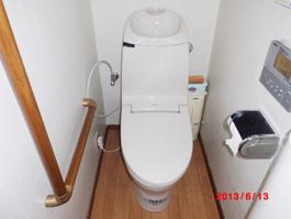大阪府箕面市S様 トイレ(便器・タンク・ウォシュレット)取替交換リフォーム-01