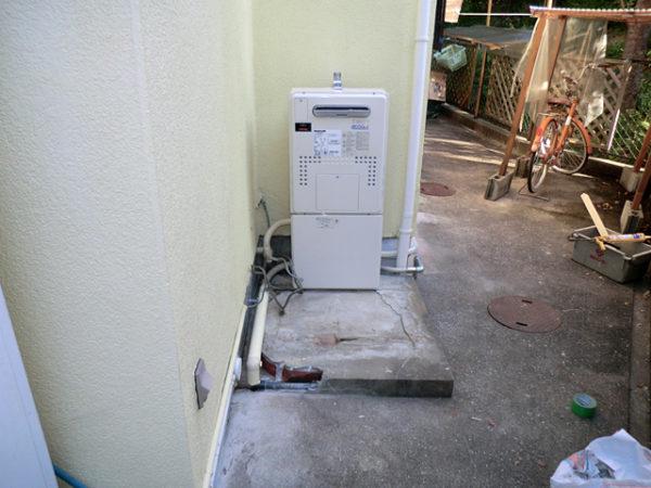 大阪府池田市Y様 エコジョーズ給湯暖房機(プリオール・エコジョーズ)取替交換リフォーム-2