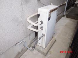 大阪府箕面市Y様 エコジョーズ給湯暖房機(プリオール・エコジョーズ)取替交換リフォーム-1