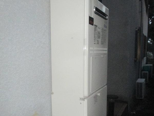 大阪府池田市I様 給湯暖房機・給湯器取替交換リフォーム-2