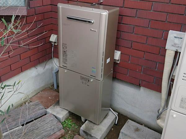 大阪府箕面市S様 給湯暖房機・ビルトインコンロ・キャビネット取替交換リフォーム-2