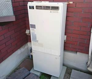 大阪府箕面市S様 給湯暖房機・ビルトインコンロ・キャビネット取替交換リフォーム-1