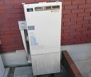 大阪府箕面市S様 給湯暖房機・ビルトインコンロ・キャビネット取替交換リフォーム-3
